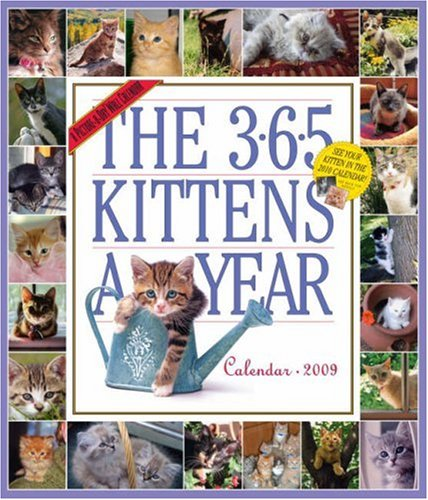 The 365 Kittens-A-Year Calendar 2009 (Picture-A-Day Wall Calendars)