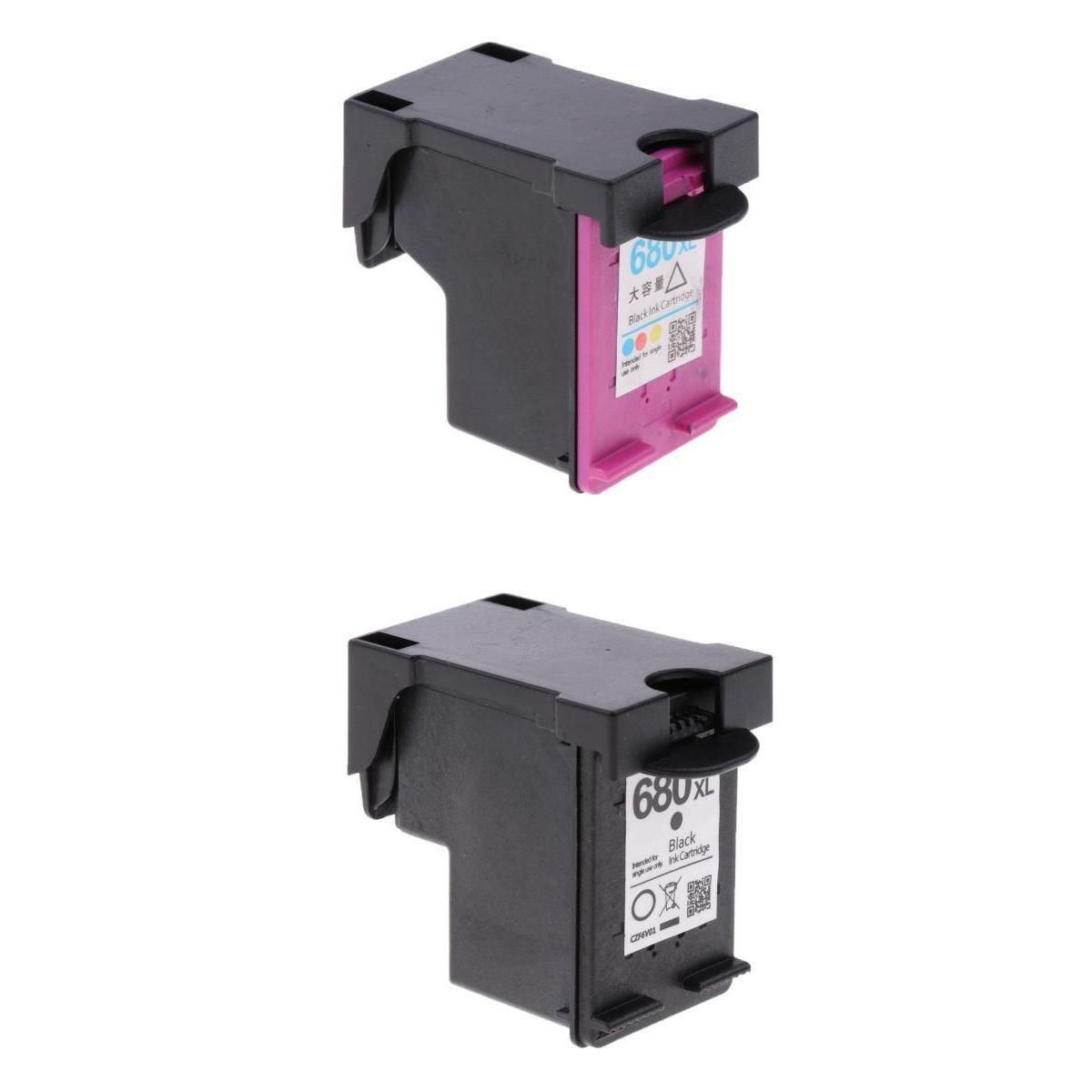 Almencla 2 unds Cartucho de Tinta de Impresora 3D para HP 3838 ...