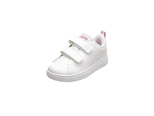 the best attitude 2ce03 ce661 adidas Vs Advantage Clean Cmf, Scape per Sport Outdoor Unisex-Bimbi, Bianco  Ftwwht