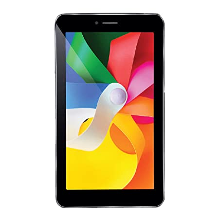 iBall Q45 Tablet  7 inch, 8 GB, Wi Fi+3G+Voice Calling , Black Tablets