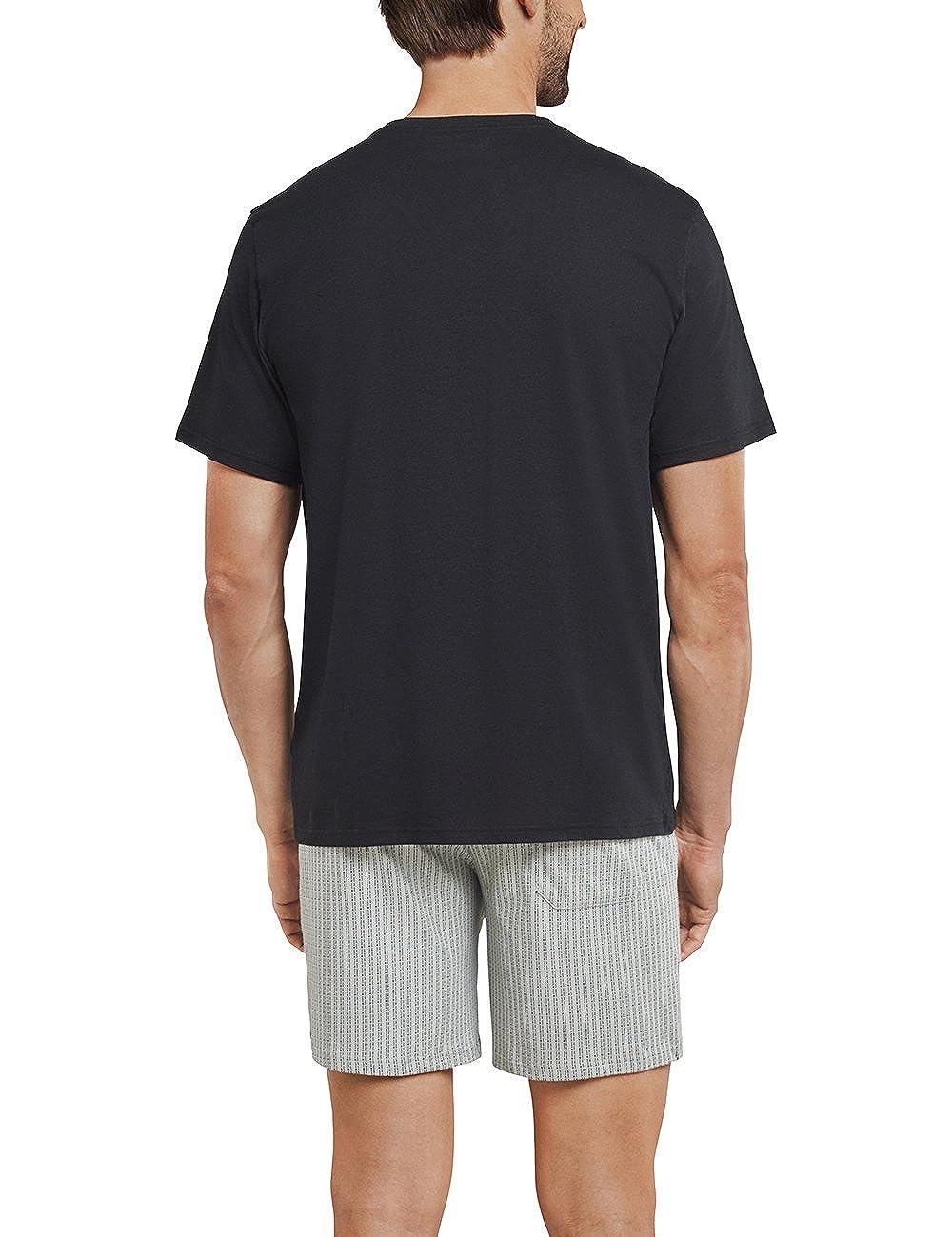 Pantaloni Pigiama Uomo Schiesser Anzug Kurz