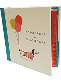 Art file chic address birthday card book amazon computers the artfile address and birthday book sausage dog design bookmarktalkfo Choice Image