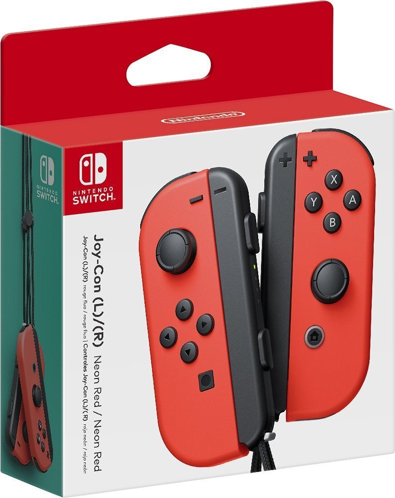 Nintendo Joy-Con (L/R) - Neon Red