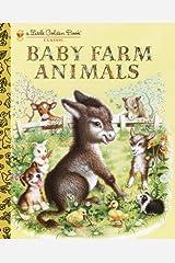 Baby Farm Animals (Little Golden Book) Kindle Edition