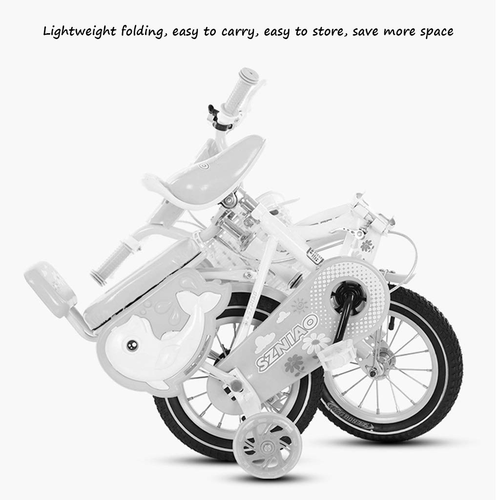 Bicicletas Plegable para niños Deportiva para niños 2-8 años de ...