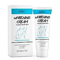 Underarm Body Lightening Cream for Private Areas, Under Arm Armpit, Knees, Elbows...