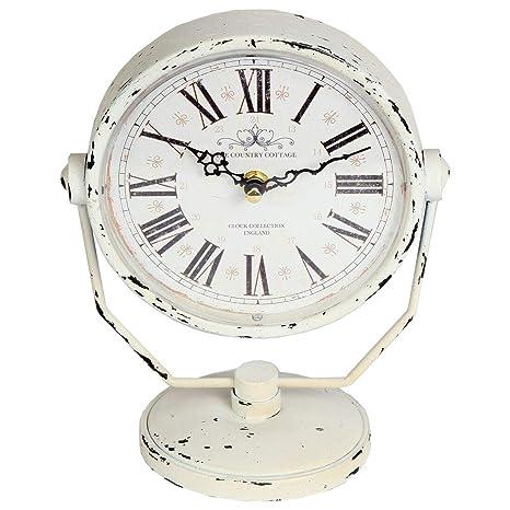 Amazon.com: Lilys Home - Reloj de mesa con números romanos ...