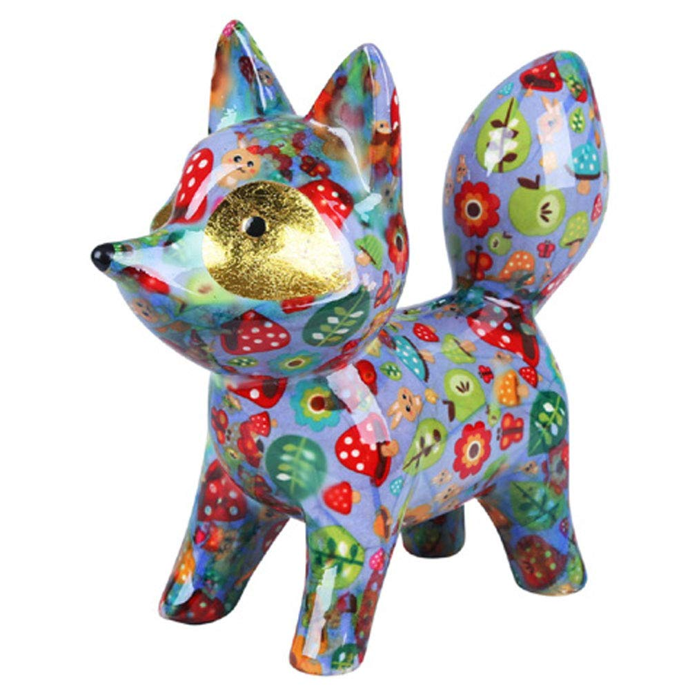 Pomme-Pidou Roxie Fox Bank - Light Blue