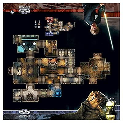 Skirmish Map - Jabba's Palace : Star Wars Imperial Assault by Fantasy Flight Games