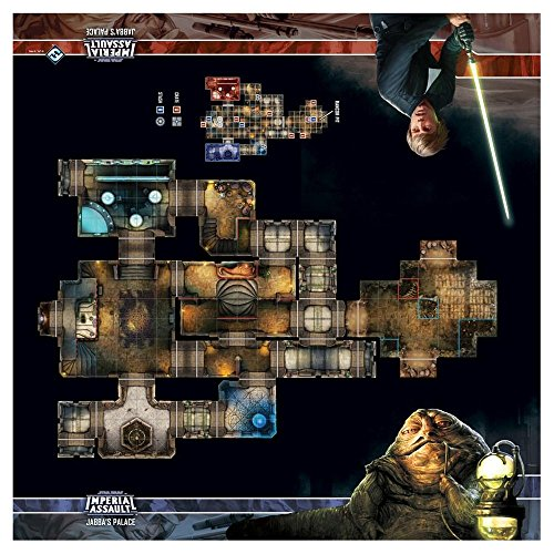 - Star Wars: Imperial Assault - Jabba's Palace Skirmish Map