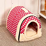 Cheap Velimax 2-in-1 Pet House Non-Slip Windproof Bottom Cats Pet Tent Pet Cover [2-in-17 pet House Handbag Shape for Dogs & Cats Pet Tent Pet Cover with Removable Cushion Washable Waterproof Bottom]