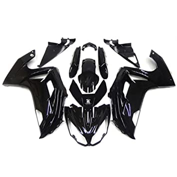 ZXMOTO Motorcycle Bodywork Fairing Kit For Kawasaki Ninja 650 EX650 EX650A EX650E EX650F 2012 22013 2014 2015 2016 Painted Glossy Black,Tail Side ...