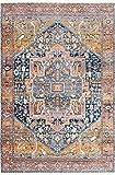 nuLOOM Ethel Medallion Fringe Area Rug, 8' x