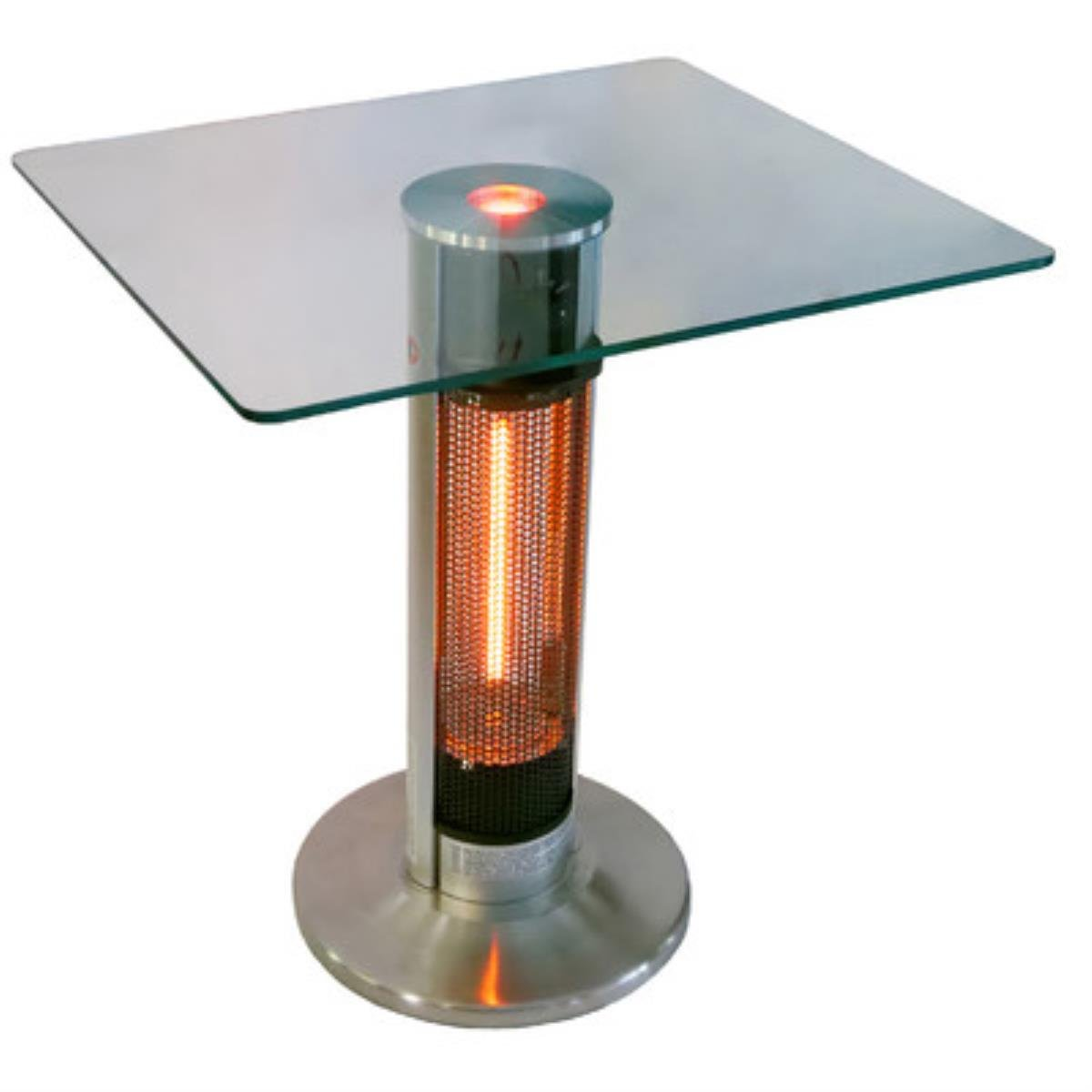 4,760 BTU Portable Electric Infrared Tower Heater with LED Lights