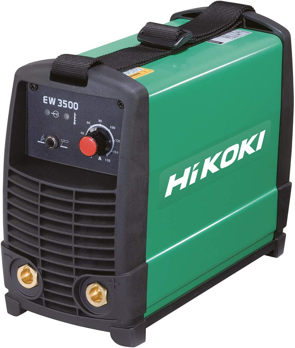HIKOKI EW3500LA - Soldador Inverter de tipo MMA/TIG 160 A, 230 V