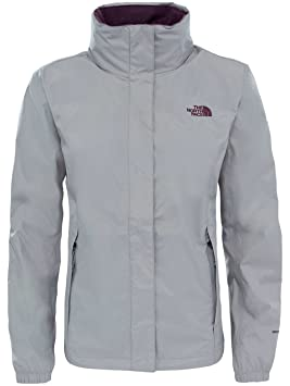 The North Face W Resolve 2 Chaqueta, Mujer, Plateado (Metallic Silver), L: Amazon.es: Deportes y aire libre