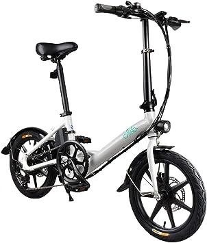 Hot wing Bicicleta Plegable Eléctrica de Velocidad Variable Fiido ...