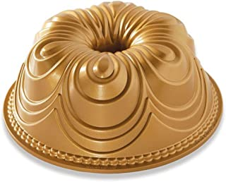 product image for Nordic Ware 87477 Chiffon Bundt Pan, 10-Cup, Gold