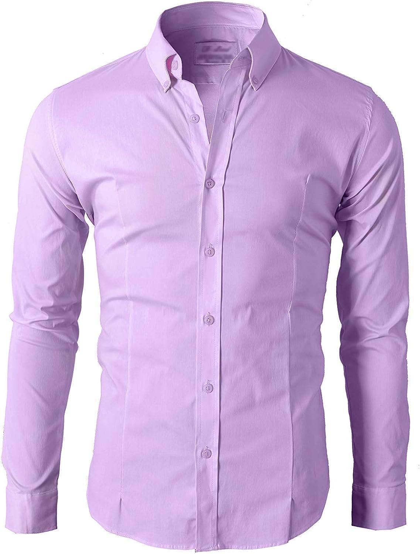 Lyon Becker® camisa de manga larga elegante, para hombre