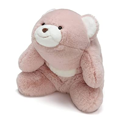 "GUND Snuffles Teddy Bear Stuffed Animal Plush, Rose Pink, 10"": Toys & Games"