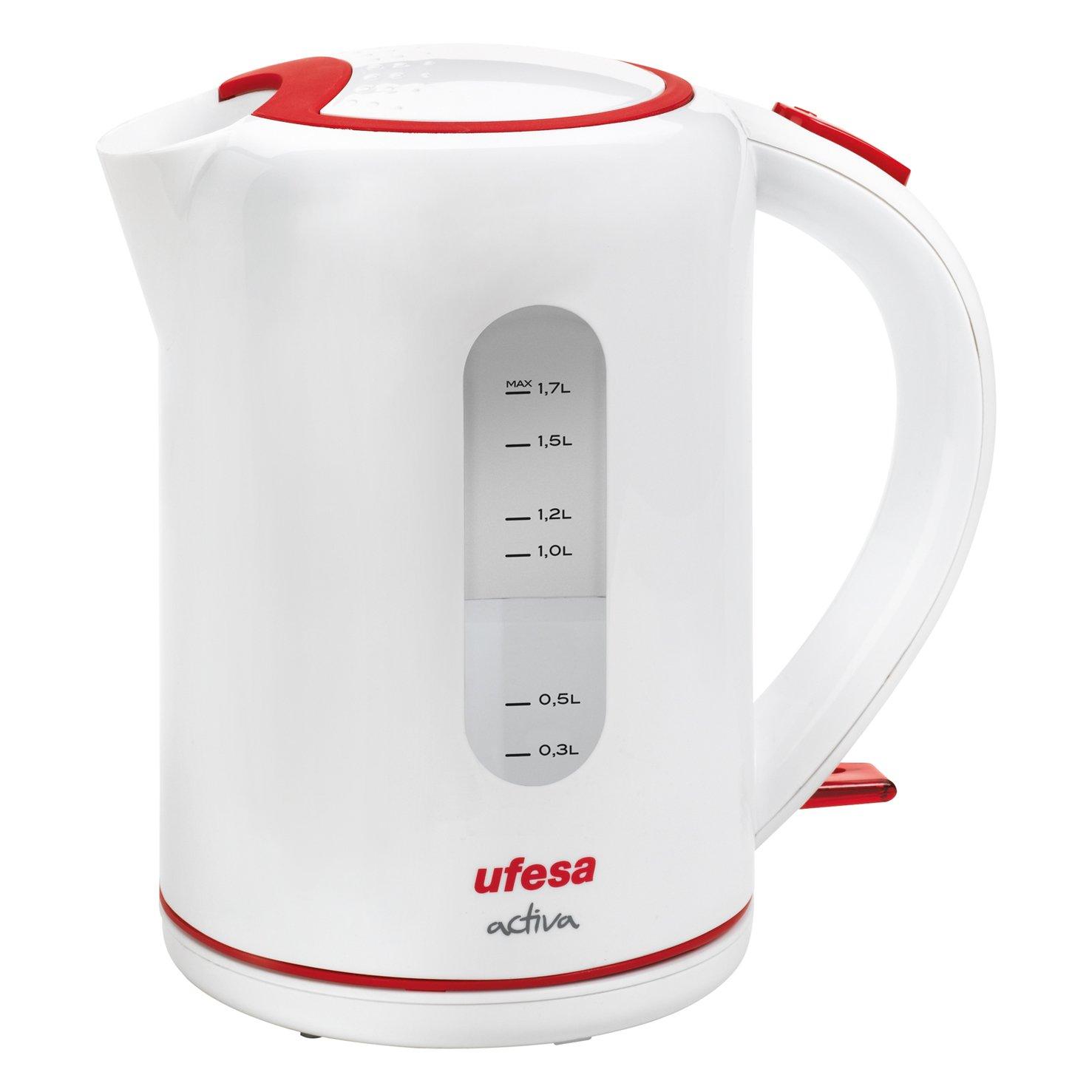 Ufesa Activa Hervidor de agua W filtro antical sistemas de seguridad
