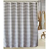 LanMeng Elegance Luxury Bathroom Shower Curtain Waterproof and Mildewproof Polyester Fabric (72-by-72 inches, 12)