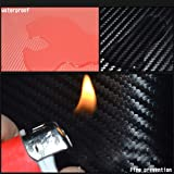 SENYAZON 4D Carbon Fiber Reflective Car Door
