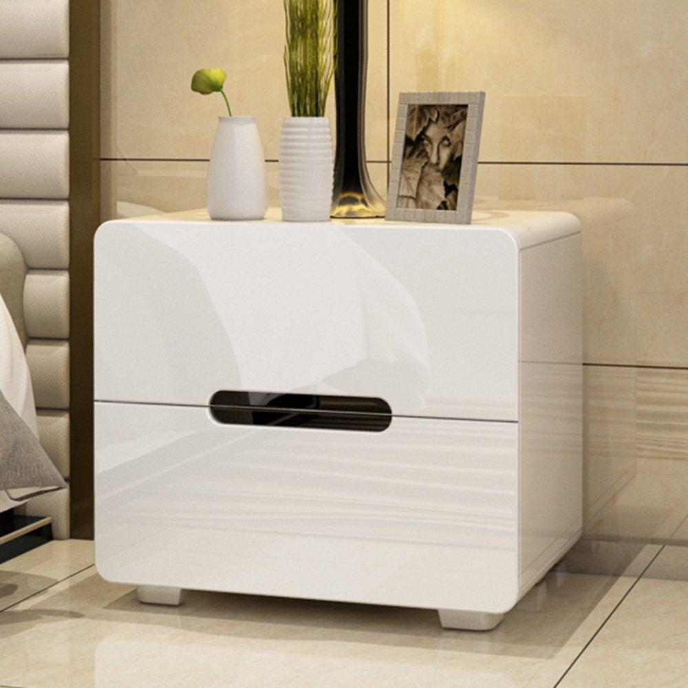 ナイトテーブル ベッドサイドキャビネットベッドルームサイドキャビネットベッドサイドテーブル収納用サイドキャビネット (色 : D) B07FBMKWLVD