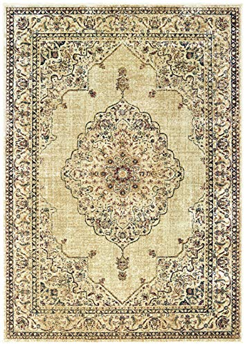United Weavers Royalton Area Rug 853 10215 Stirling Ivory Bordered Ornament 1' 11