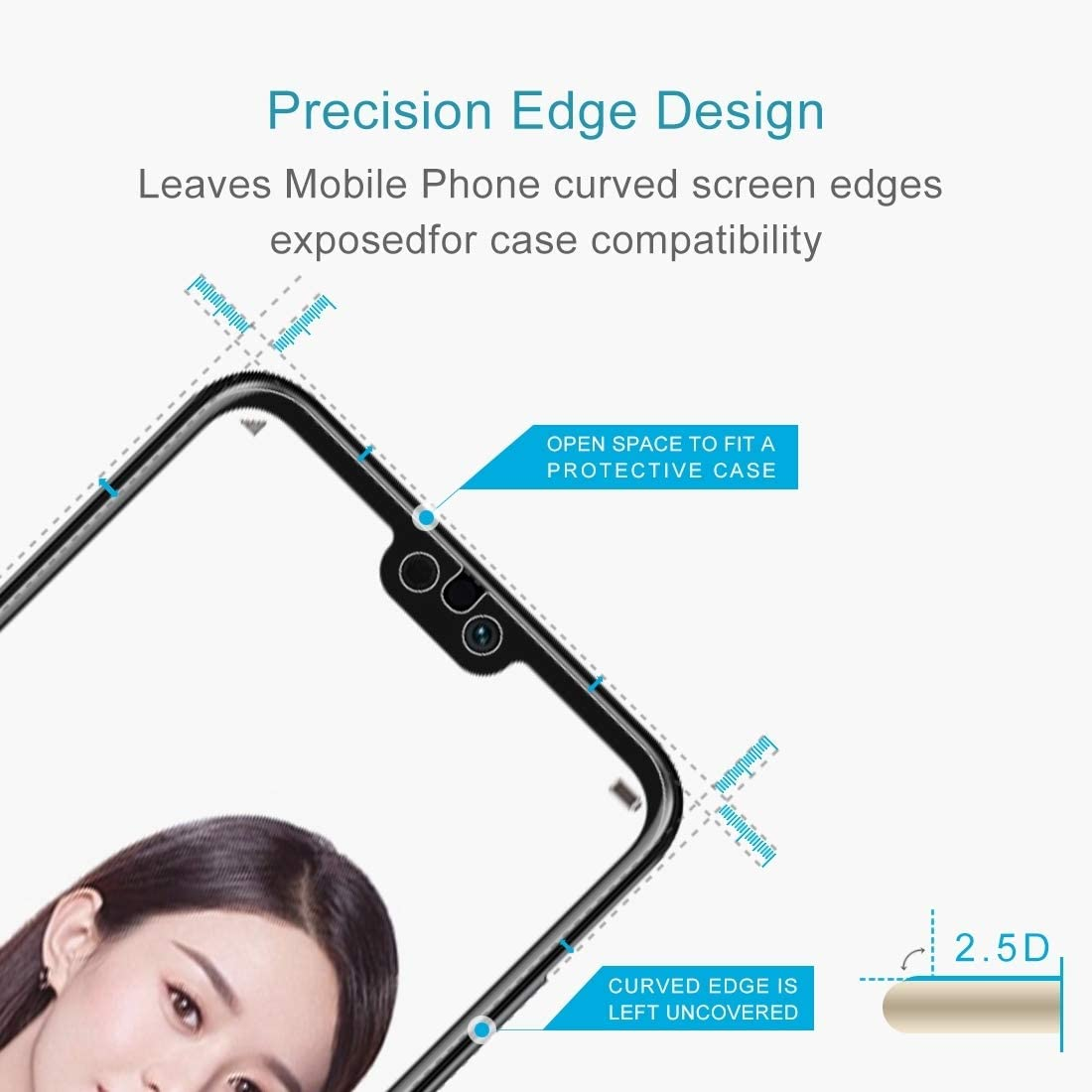 Ruanmaoshi Cell Phone /& Accessories 100 PCS for LG K8 2017 0.26mm 9H Surface Hardness Explosion-Proof Tempered Glass Screen Film