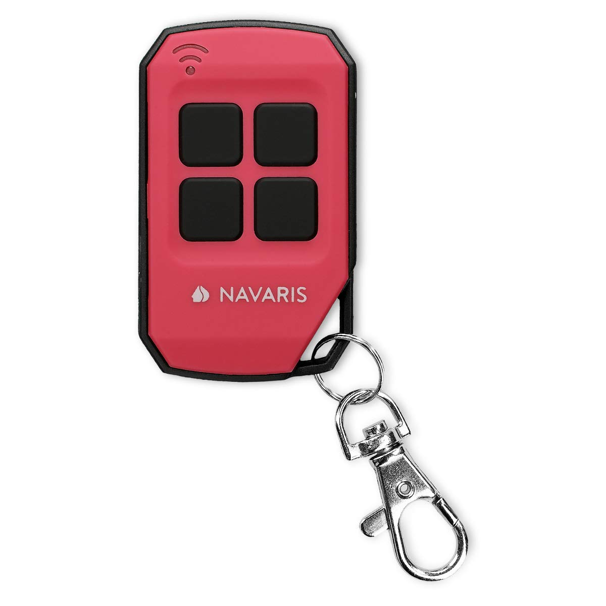 Ersatz Garagentor/öffner Gr/ün Navaris 433 MHz Transmitter Funk Fernbedienung auch f/ür Funksteckdosen Garagentor Funkfernbedienung Handsender
