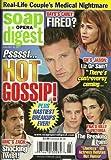Steve Burton, Tom Degnan, Nadia Bjorlin, Soaps' Nastiest Breakups - January 18, 2011 Soap Opera Digest Magazine