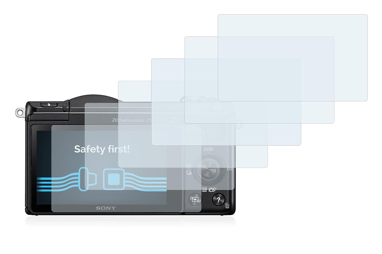- Transparente Savvies Protector de Pantalla para Sony Alpha 5000 DSLR-A5000 6 Unidades