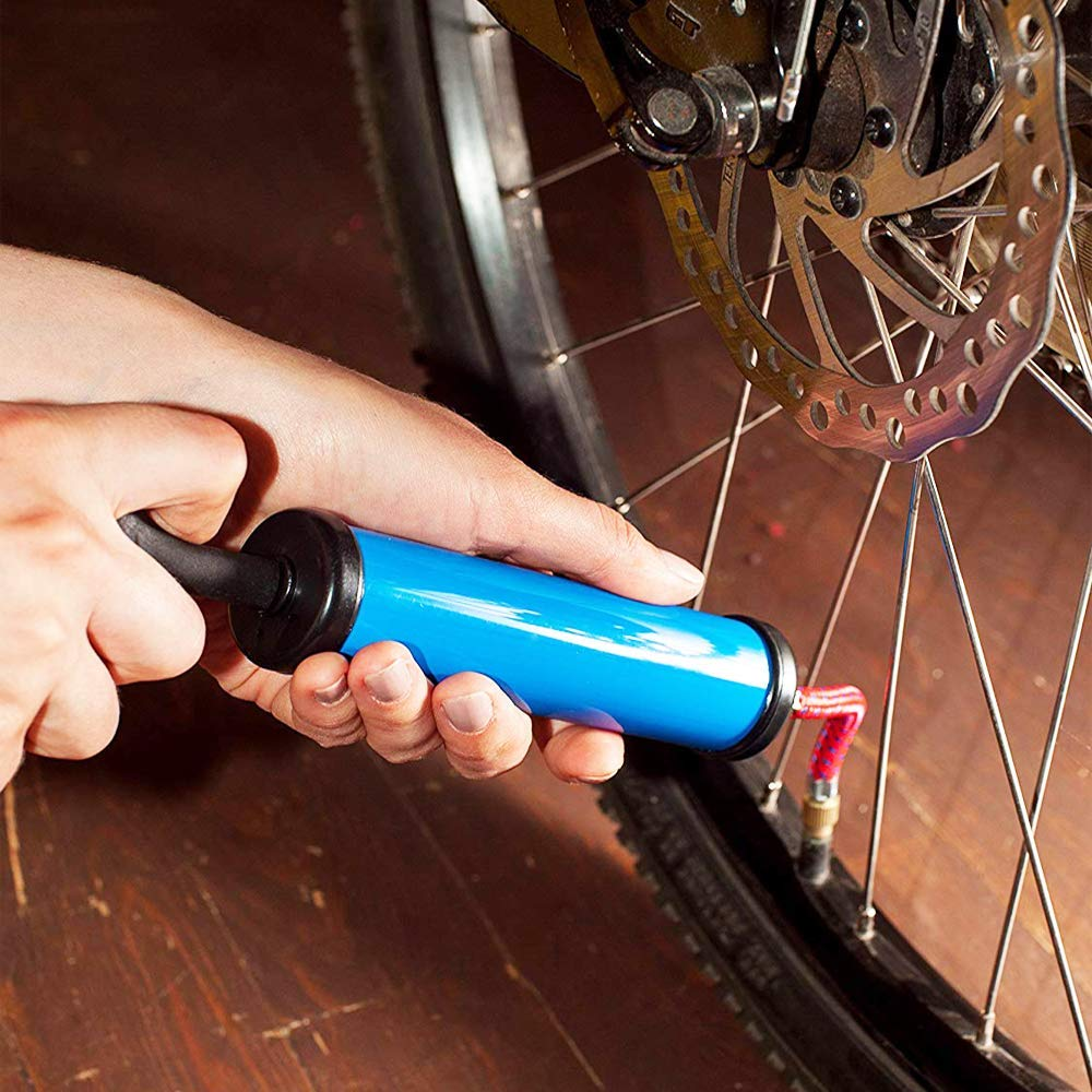 for Air Compressor Bicycle Floor Pump SV AV DV Car Gas Station Air Mat Ball Pump 10PCS Bicycle Air Pump Inflation Needle Nozzle Adapter Kit with 10pcs Spare sealing rings