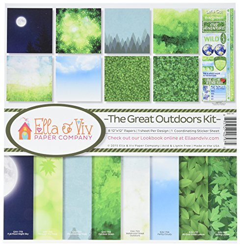 Reminisce EAV-797 The Great Outdoors Collection Kit by Reminisce