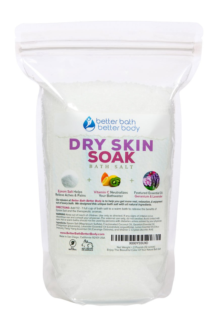 Dry Skin Bath Salt 2 Pounds