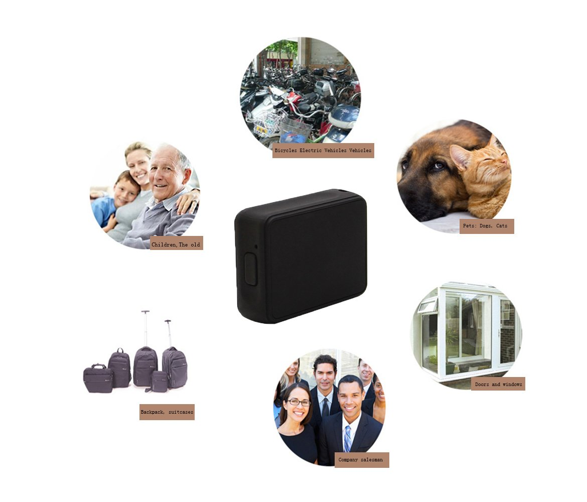 Smart GPS Tracker Spy Mini Portable Real Time tracking device Wireless GPRS SIM Locator For Vehicle Car Children (K8) by ZHLL (Image #5)