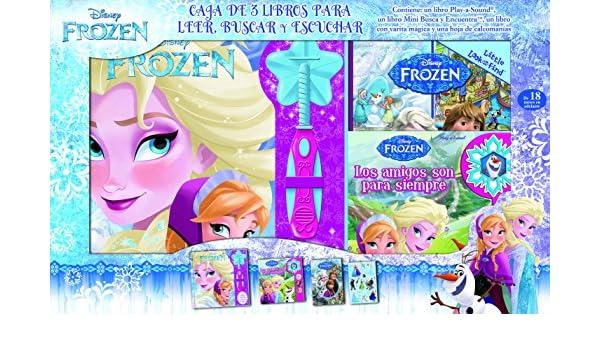 Lee, busca y juega con Frozen. Caja de tres libros para leer ...
