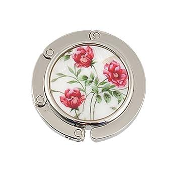 Accessoires Cintre de sac de forme ovale Motif fleurs 2 Accessoires de sac à main