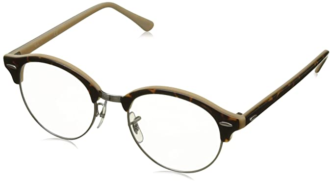 8f3cd7c2a5 Image Unavailable. Image not available for. Color  Ray-Ban RX4246V Clubround  Eyeglasses ...