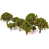 LIOOBO 20PCS Modelo árboles en Miniatura Paisaje Paisaje