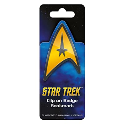 Star Trek Metal Badge Bookmark: Office Products