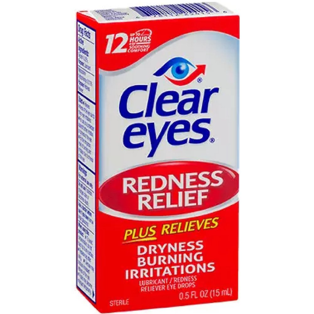 Clear Eyes Redness Relief .05oz (3 Pack)