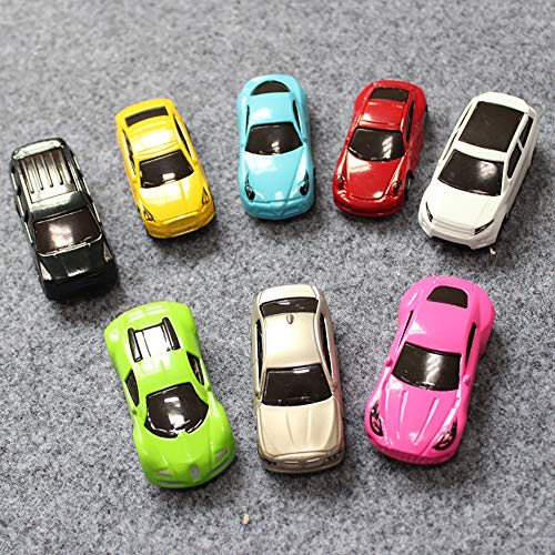 Nesee Mini Pull Back and Let Go Fast Racing Car Gift, Toys Model Cars Assorted Vehicle Set 8-Car Gift Pack Car ()