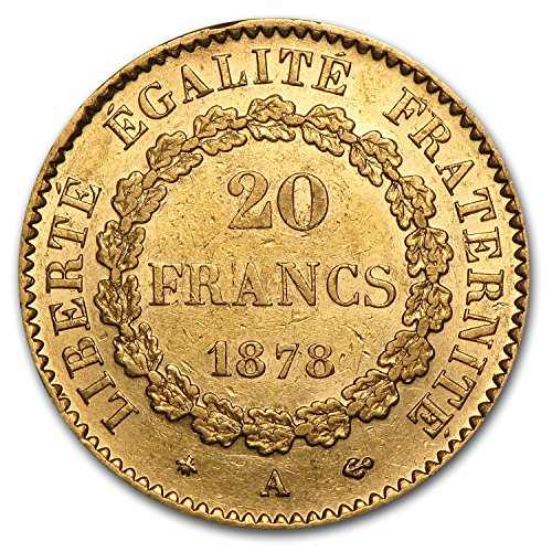 Buy 20 gold francs angel