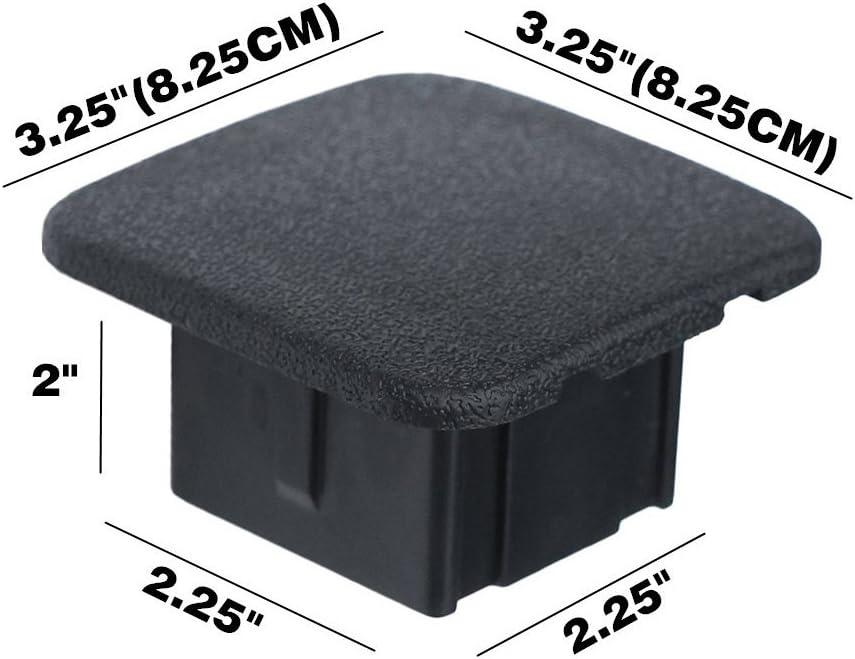 Abdeckung Für Anhängerkupplung Größe 5 1 Cm Schwarz 2 Stück Auto