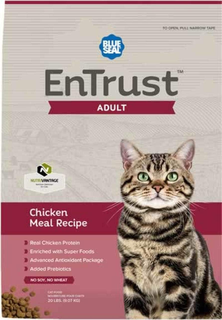 Blue Seal Entrust Chicken Meal Adult Cat Food