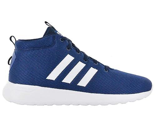 adidas Herren Cf Lite Racer Mid Fitnessschuhe, blau (Azumis/Ftwbla/Maruni), 43 1/3 EU