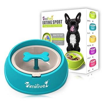 FOONEE Cuenco para Gato de alimentación Lenta, Cuenco para Perros y Gatos - Divertido comedero para Perros y Gatos: Amazon.es: Hogar