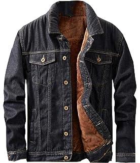 Yayu Men Long Sleeve Faux Fur Collar Thicken Puffer Down Jacket Coat Outdoor